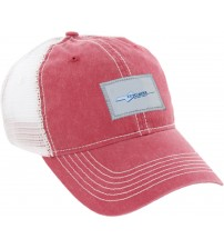 The Washburn Red/White Hat